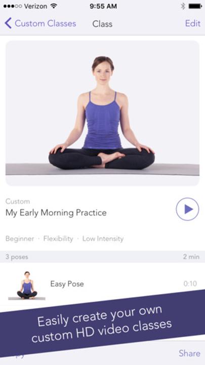 Yoga Studio App class
