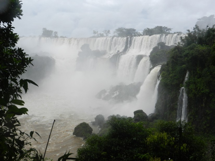 10 One of many incredible views of Iguazú Falls from Circuito Superior (Upper Circuit)