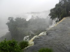 One of many cascades as seen from Circuito Superior (Upper Circuit)