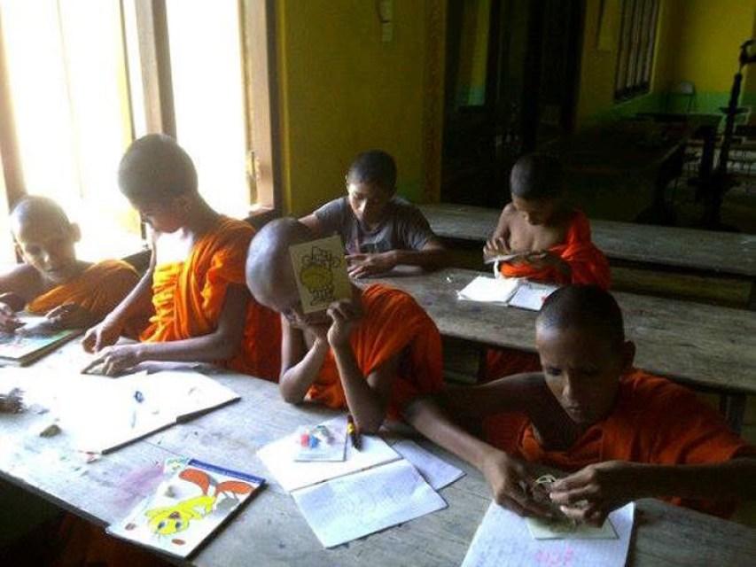 Sri Lanka Volunteer Monastery classroom
