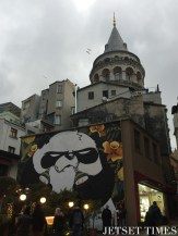 1. The trendy district around Galata Tower.