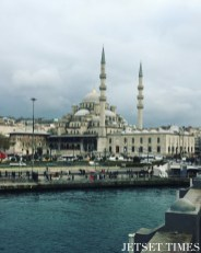 5. The Yeni Cami or New Mosque from Galata Bridge.