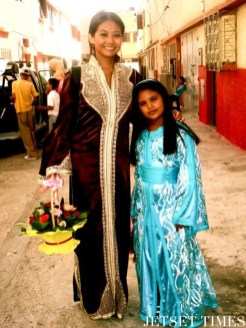 Attending a local wedding (Kenitra, Morocco)