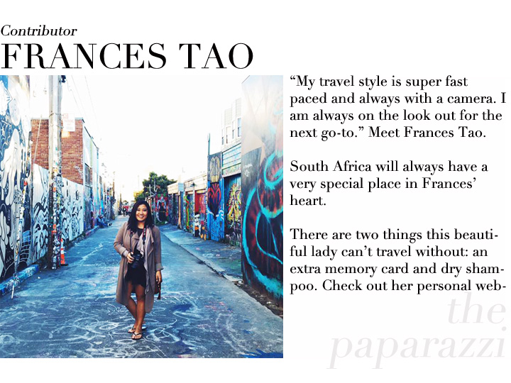 Frances Tao contributor profile Taipei
