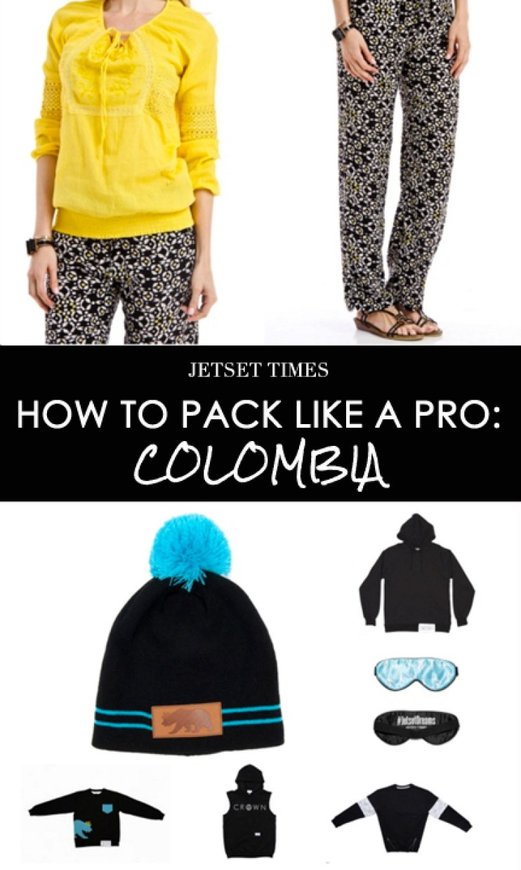 How To Pack Like a Pro, Colombia