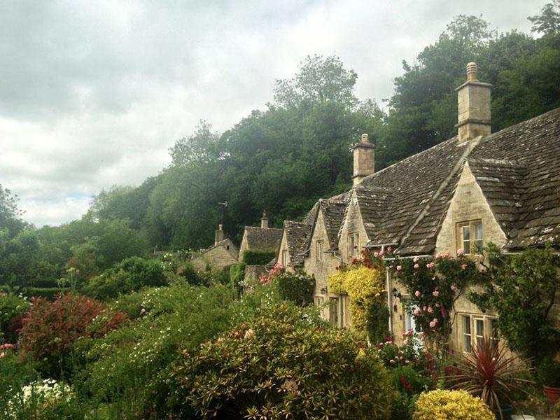 Bibury English village