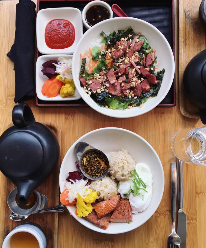 Samovar Tea Lounge food San Francisco