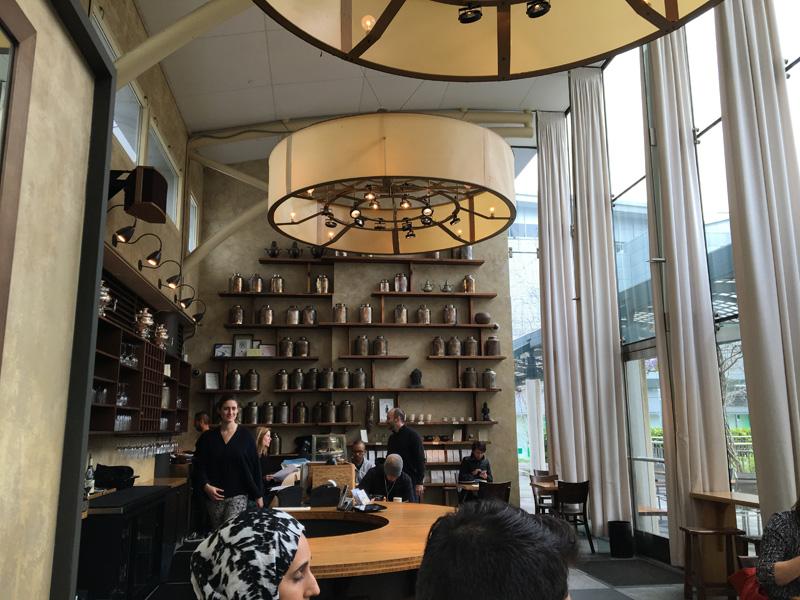 Samovar Tea Lounge interior San Francisco