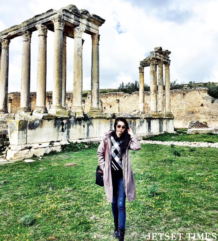 Tunisia Dougga ruins