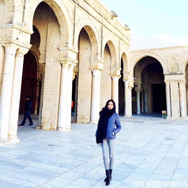 Tunisia Kairouan great mosque
