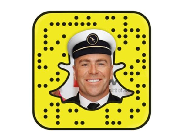 Snapchat Qantas