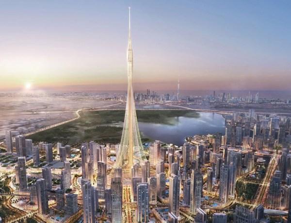 The Tower Dubai view