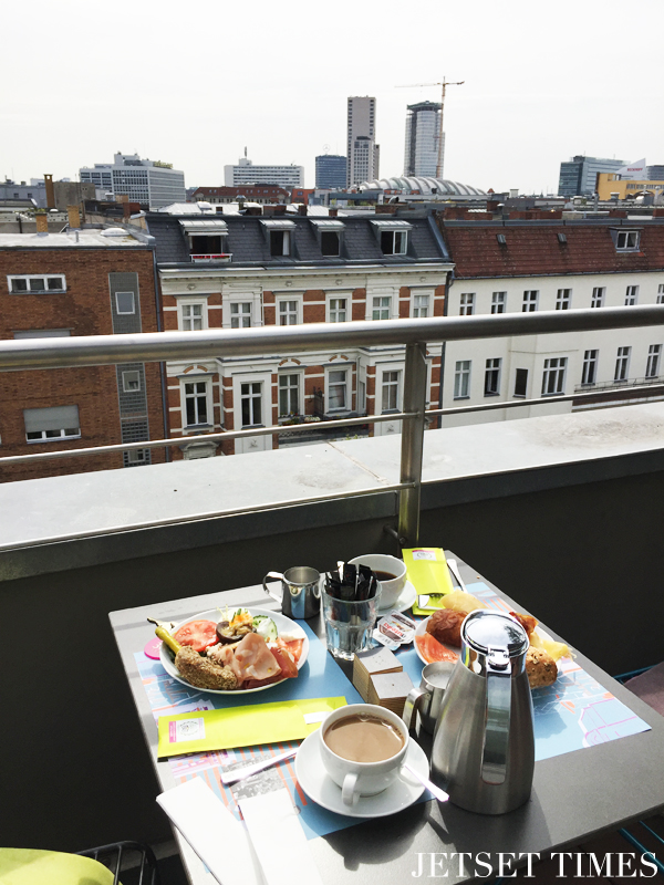 Hotel Otto breakfast