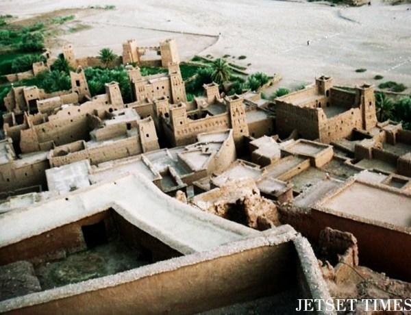 Top view Ouarzazate Morocco