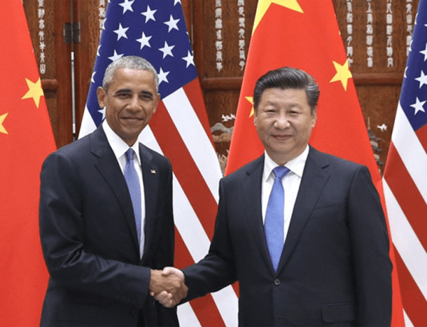 Obama Xi JinPing Paris Accord