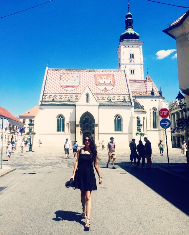 St. Mark's Church, Zagreb.