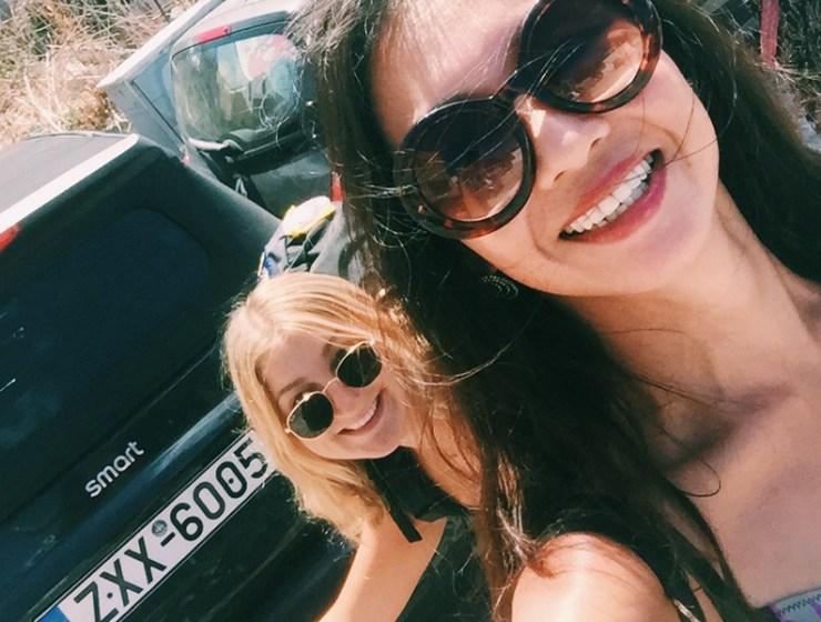 Rental Car Santorin