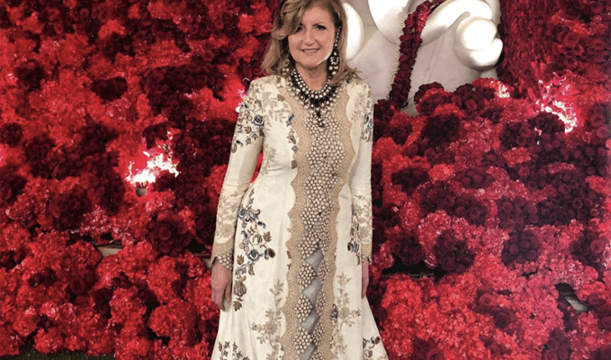 Arianna Huffington Indian Fashion Designers