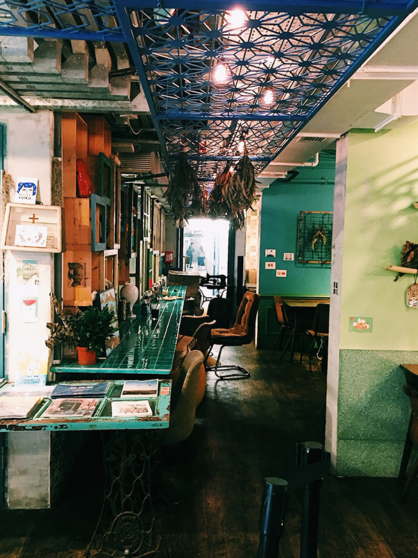 Cafe inside PMQ, Hong Kong