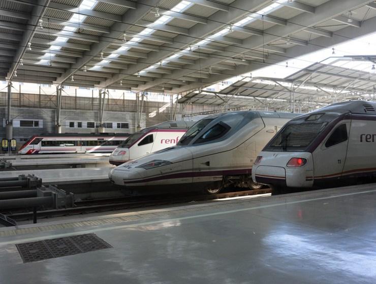Pixabay Renfe Ave Train Railway Spain