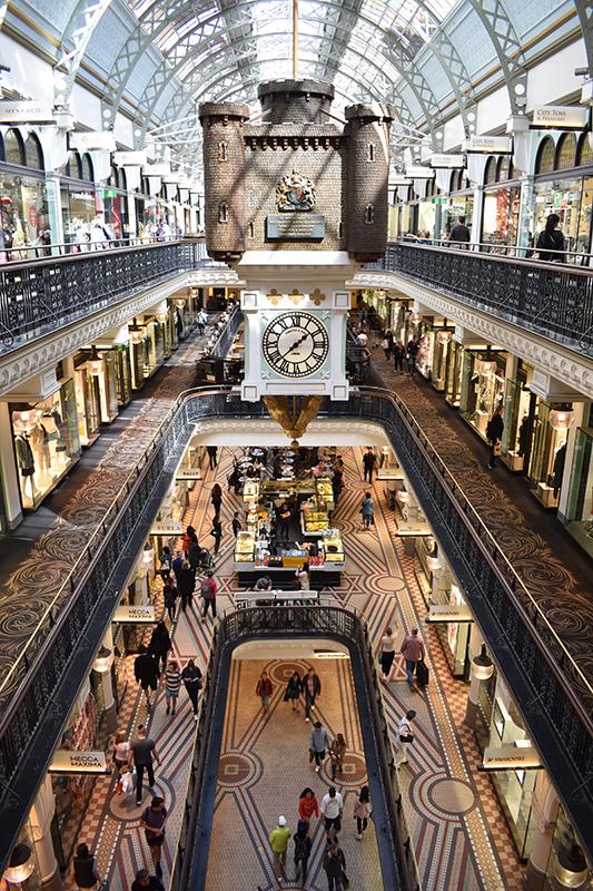 shopping in Sydney