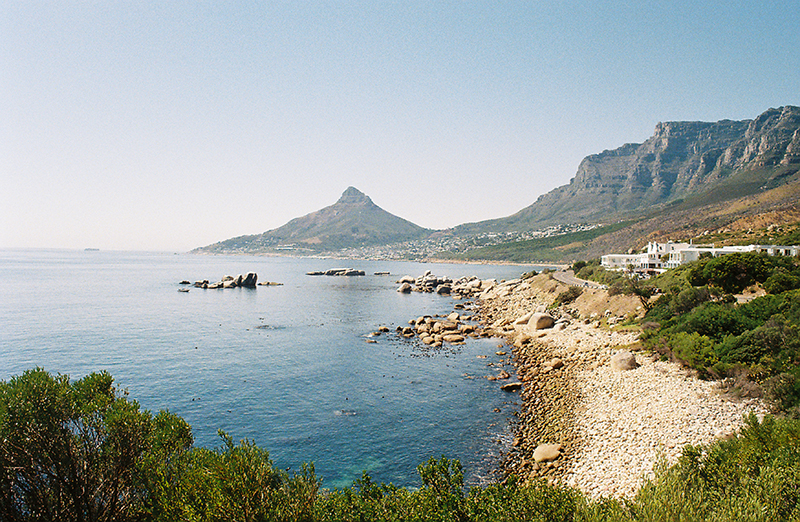 Cosy Bay on a calm summers day in Cape Town, South Africa.