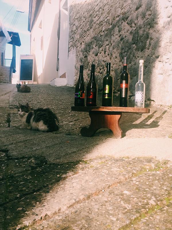 Omodos wine.