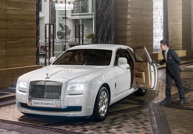 Rolls Royce available.