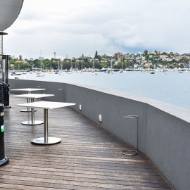 Terrace bar.