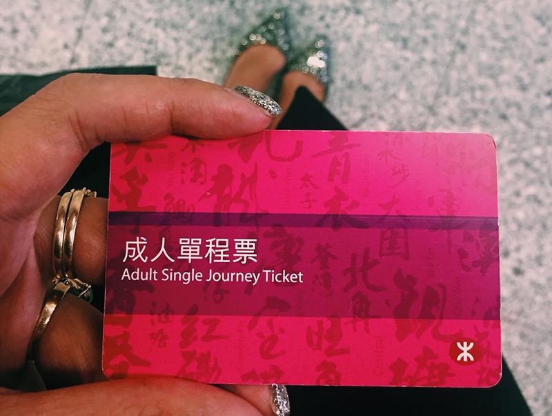 MTR, Hong Kong.