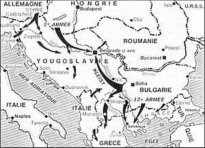 Germans invade and control Croatia, and after the defeat of the Germans, Croatia enters a Communist State.