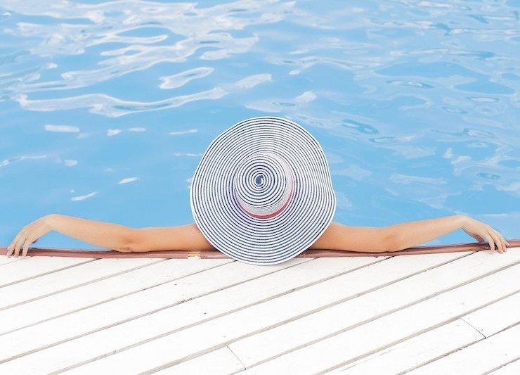 a break pool water