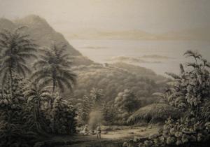 Lithograph of Saint John, 1850