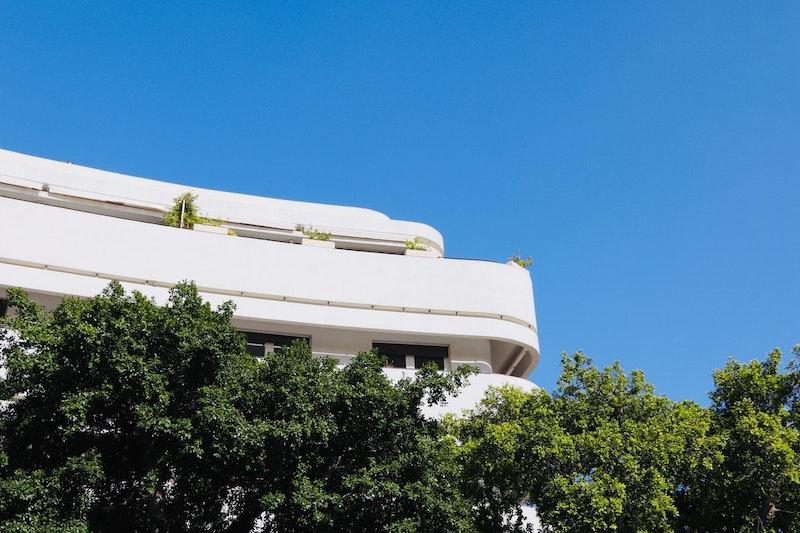 Bauhaus architecture in Tel Aviv.