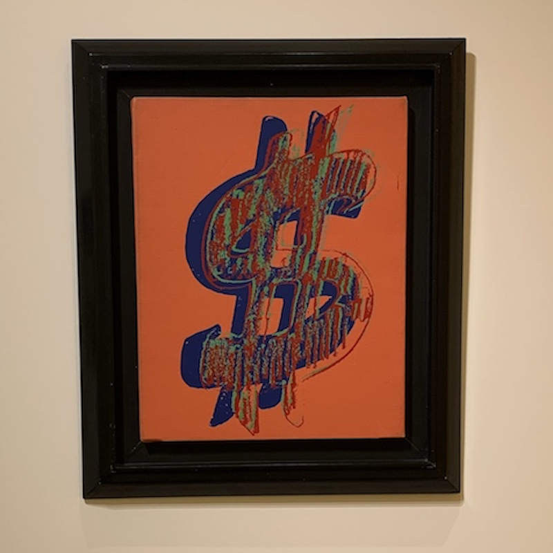Warhol: Dollar Sign