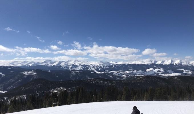 Lone Snowboarder