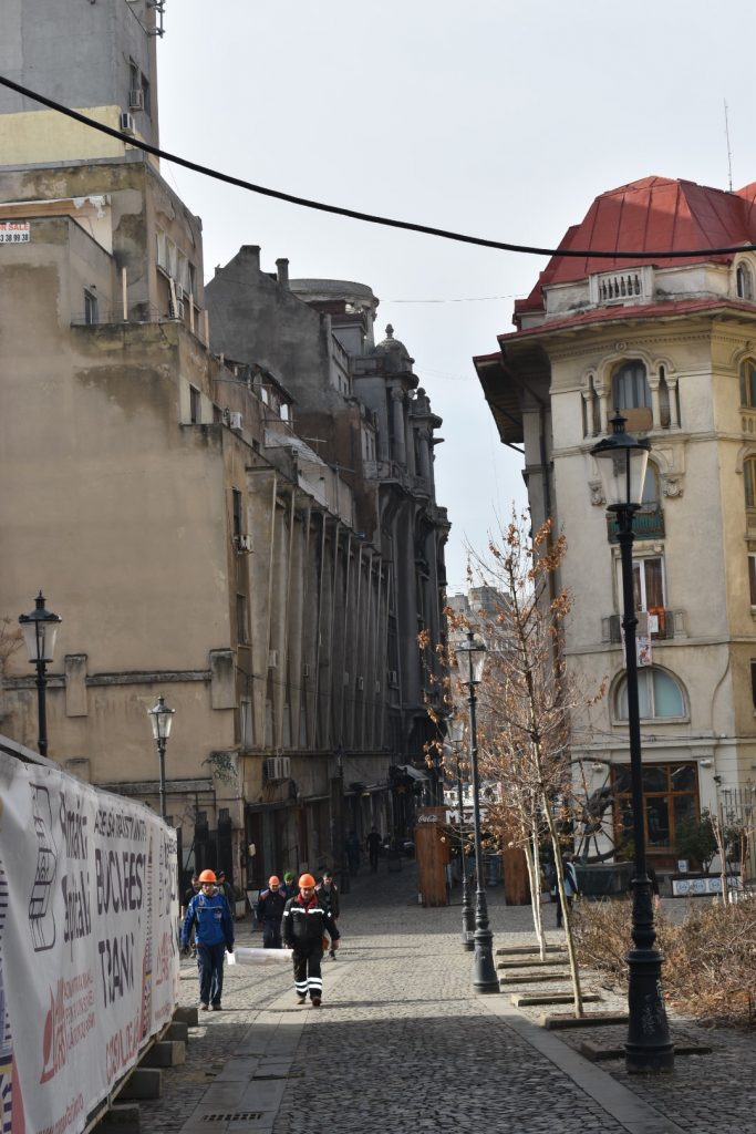 Old Town Bucharest is lined with beautiful cobblestone streets.