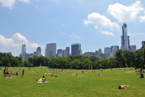 Great Lawn Central Park New York City NYC JetSettingFools.com