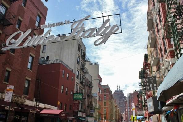 Little Italy sign New York City NYC JetSettingFools.com