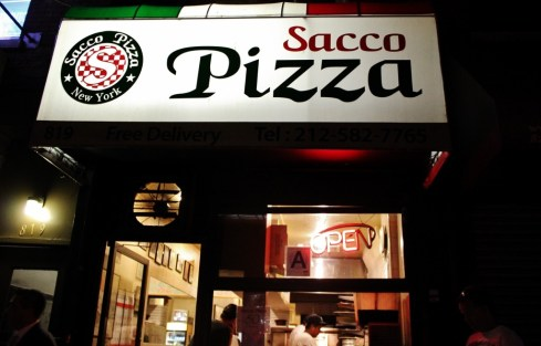 Sacco PIzza Hell's Kitchen New York City NYC JetSettingFools.com