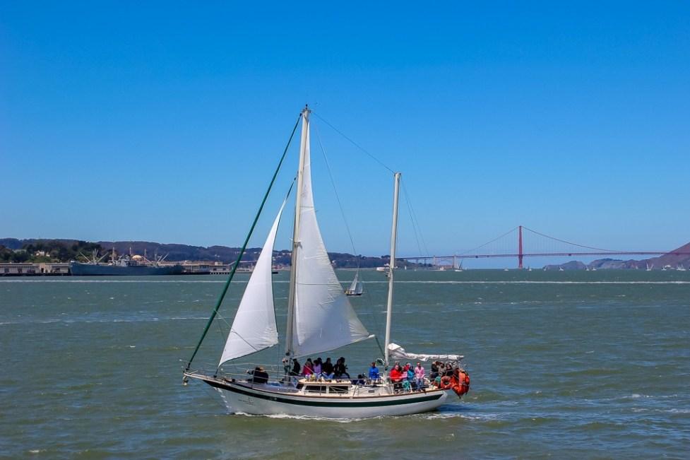 San Francisco Bay Sailing, California
