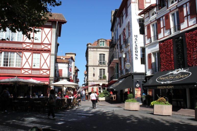 Lane in St. Jean de Luz, France