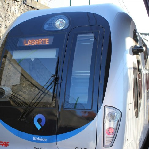 Riding the Topo Train from Hondarribia to St. Jean de Luz