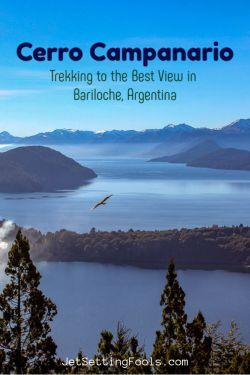 Cerro Campanario Best View in Bariloche, Argentina by JetSettingFools.com