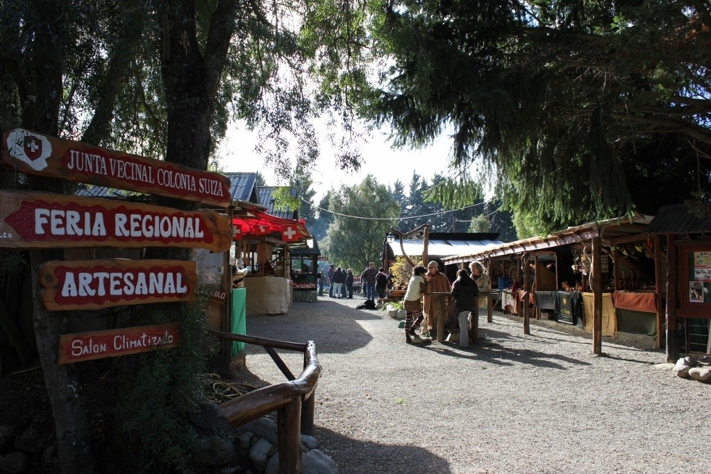 Colonia Suiza in Bariloche - Feria Artesanal