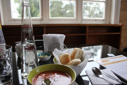 Lunch In Puerto Varas, Chile
