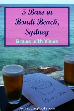 Bars in Bondi Beach, Sydney Brews with Views by JetSettingFools.com