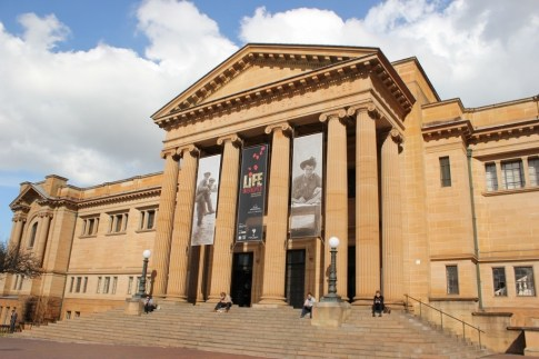 The State Library of New South Wales in Sydney, Australia