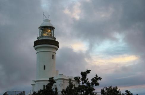 Byron Bay Lighthouse at Cape Byron, Gold Coast, Australia