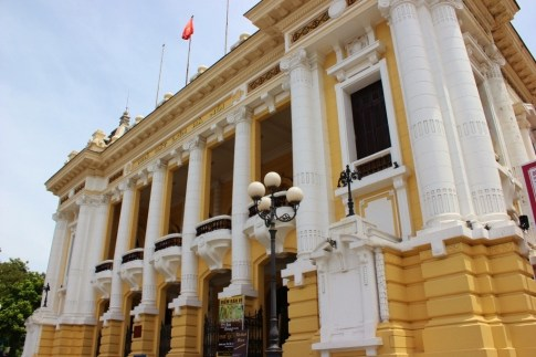 Grand Opera House in Hanoi, Vietnam